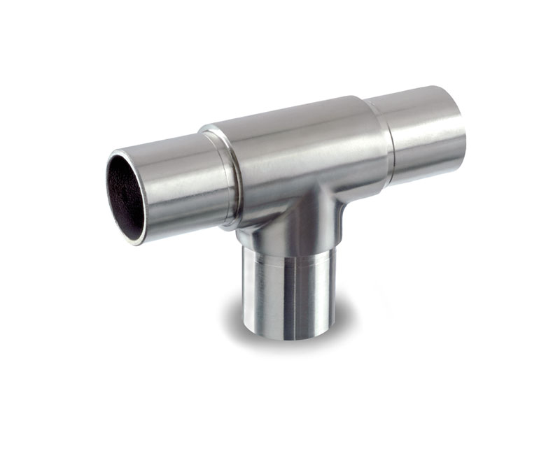 Stainless Steel Handrail Fittings For Tube Tee Joiner