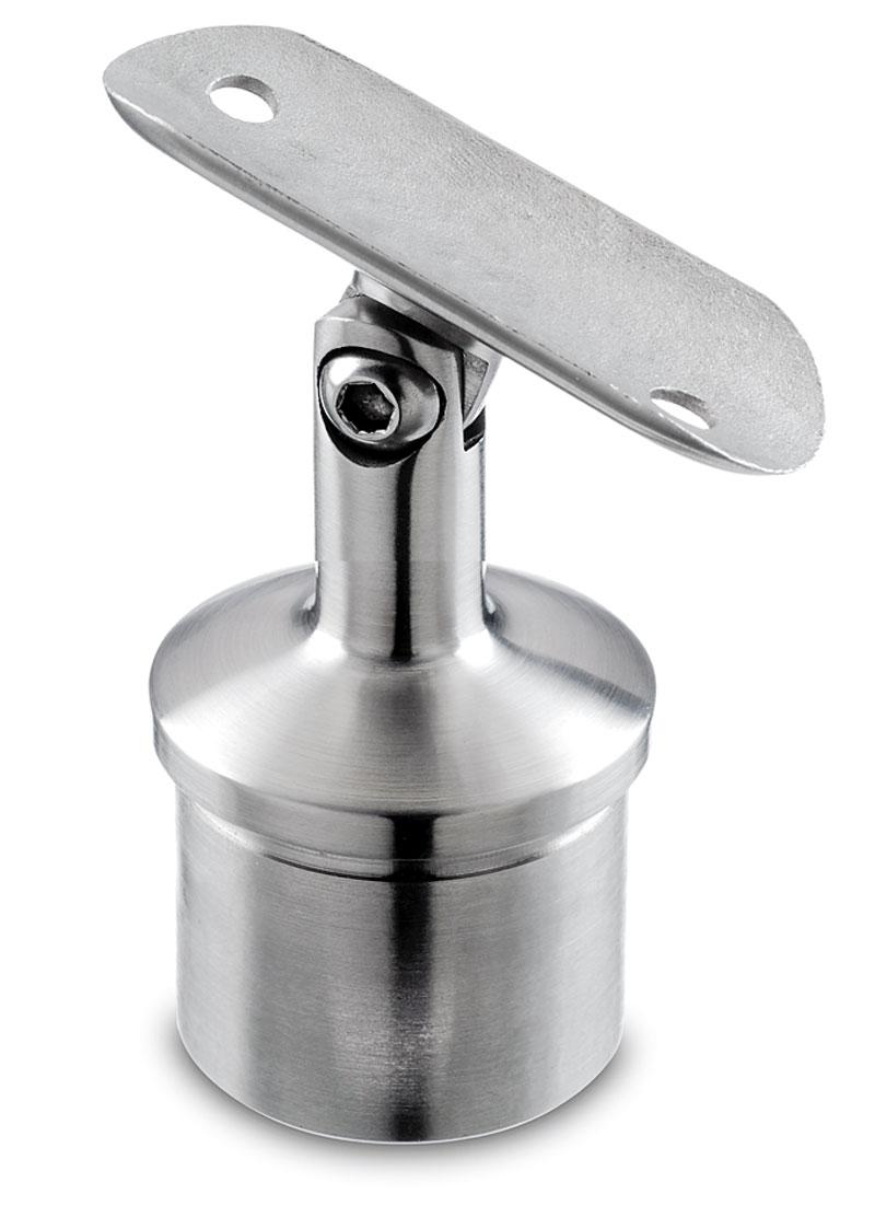 Stainless steel handrail fittings for tube toprail
