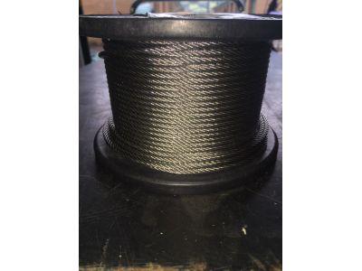 Stainless Steel Wire 3.2mm 7x7 316 Marine Grade x 305 metre roll