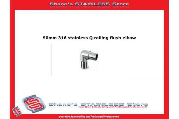Q-Railing Elbow 90 Degree