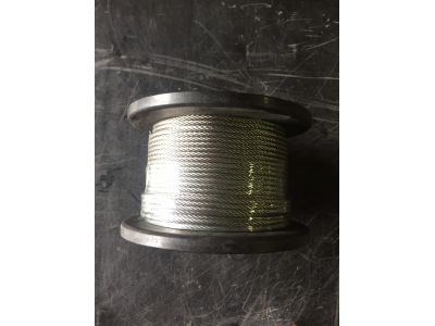 Stainless Steel Wire 3.2mm 7x19 316 Marine Grade x 305 metre roll