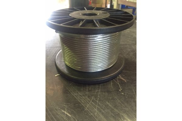 Stainless Steel Wire 3.2mm 1x19 316 Marine Grade.