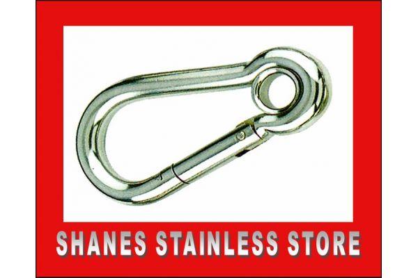 Stainless Steel Snap Hook 5mm.