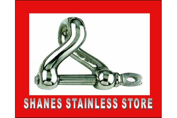 Stainless Steel Twisted Shackles 5mm